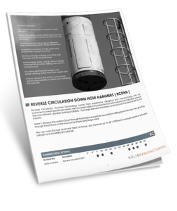 Download Holte's RC Down Hole Hammers Brochure