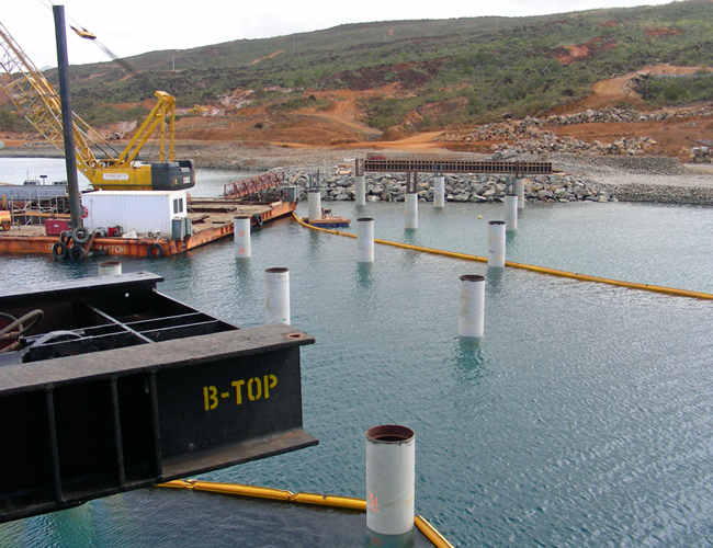 Marine Drilling of Pylons